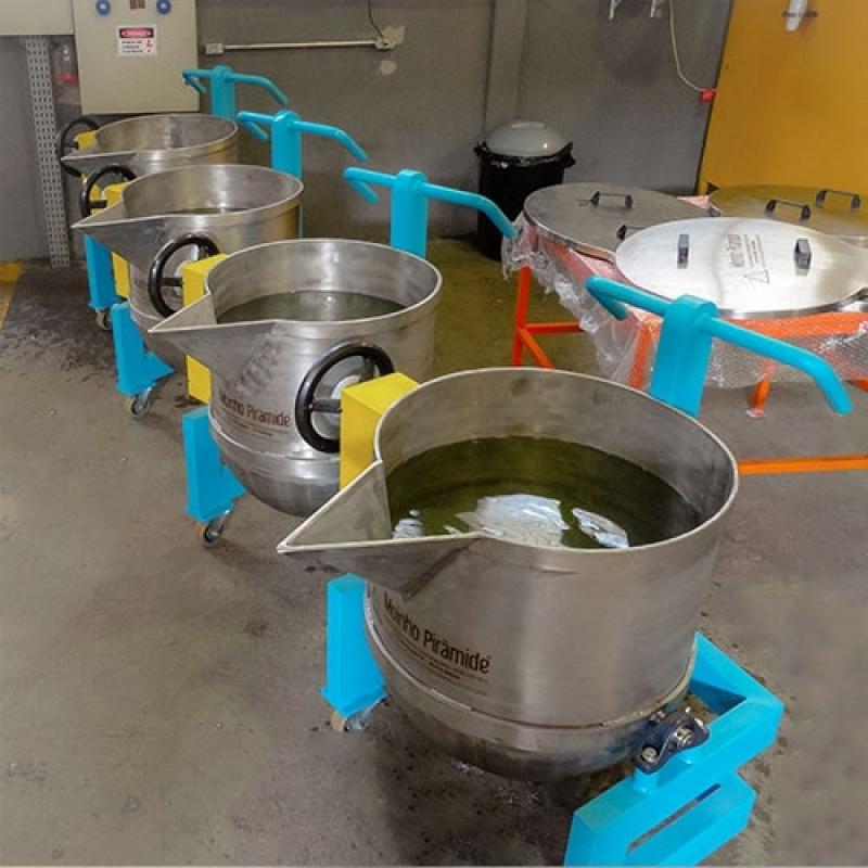 Tacho de Aço para Batedeiras à Venda Rio Grande - Tacho em Aço Carbono