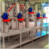 agitador mecânico laboratorio
