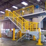 empresa que vende estrutura metálica galvanizada Jaguarari