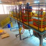 instalação industrial de produção em serie Crato