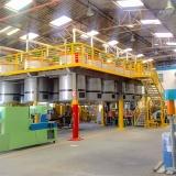 mezanino de estrutura metalica estimar Pombal