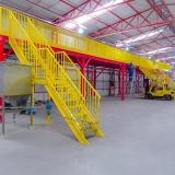mezanino de estruturas metalica Campos Novos
