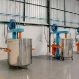 misturador de tinta tipo industrial Santos