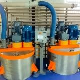 misturador horizontal helicoidal Louveira