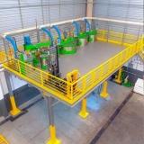 projeto de estrutura metálica modular Dracena