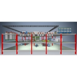 projeto de fábrica layout Porto Velho
