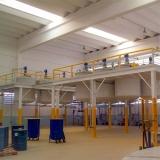 projeto de mezanino de estrutura metalica Santa Rita