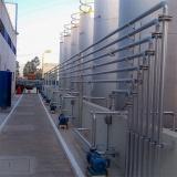 tanque de armazenamento aço inox Queimadas